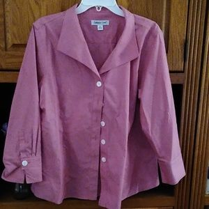 Coldwater Creek Button Down Blouse